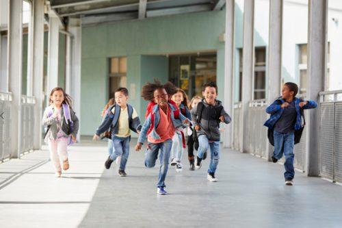 Barn spriker i förskola på södermalm